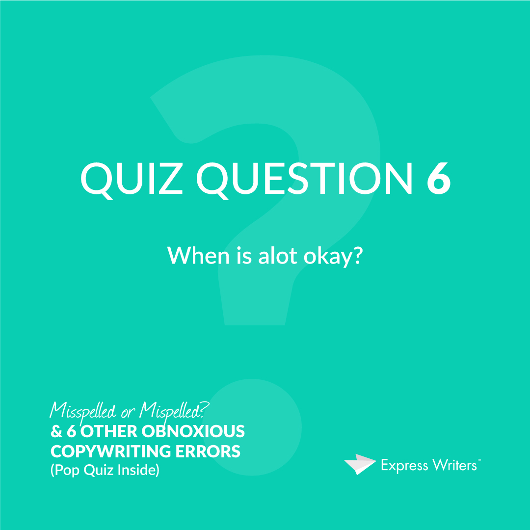 misspelled quiz question 6