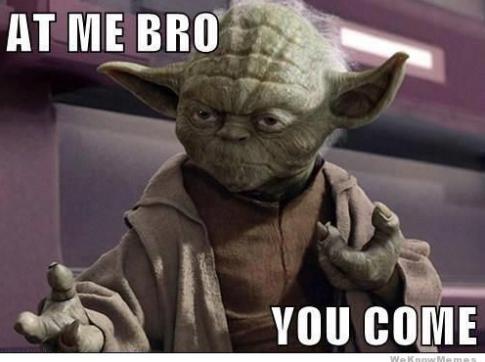 Yoda Meme Screenshot