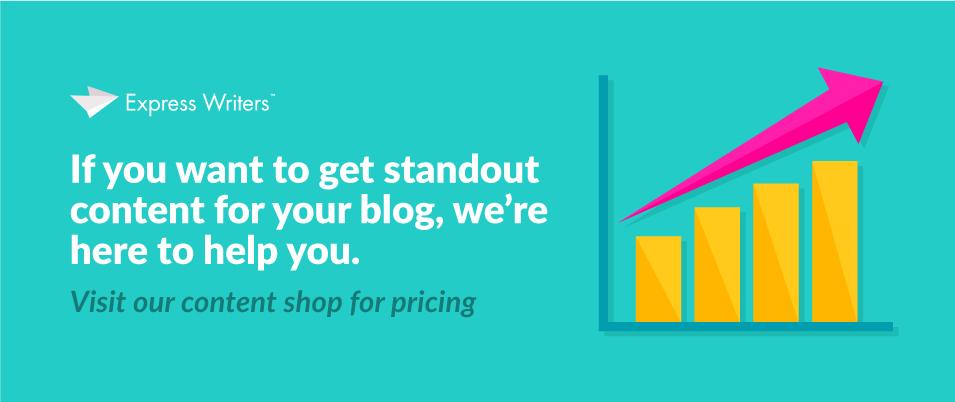 blogging statistics CTA