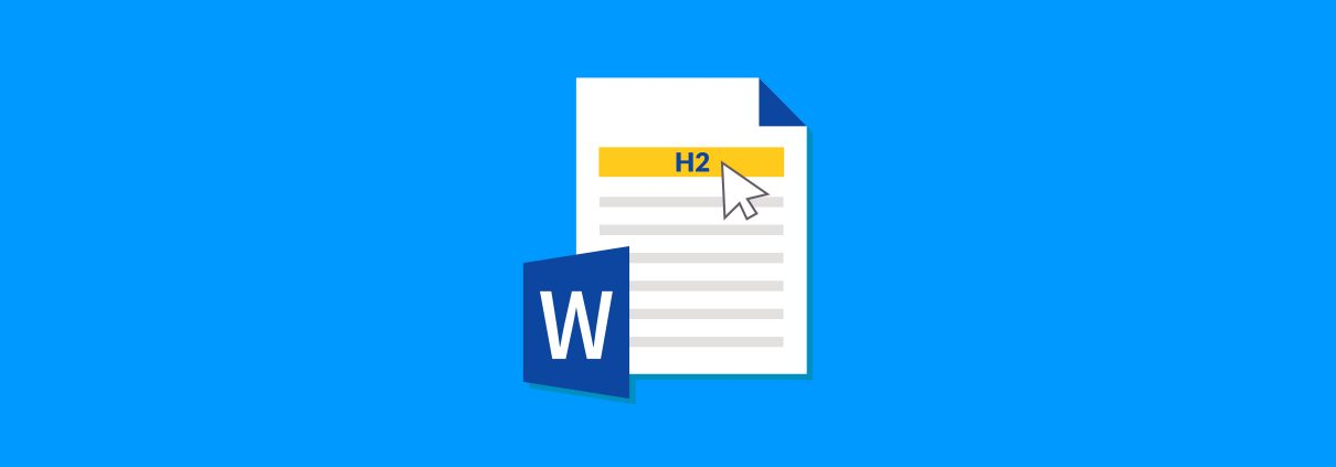 Header Formatting in Word