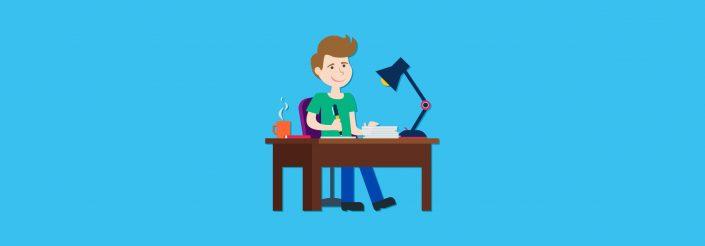 dedicated writer
