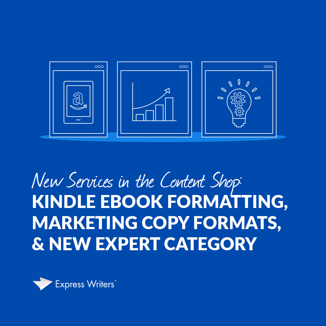 kindle ebook formatting new services