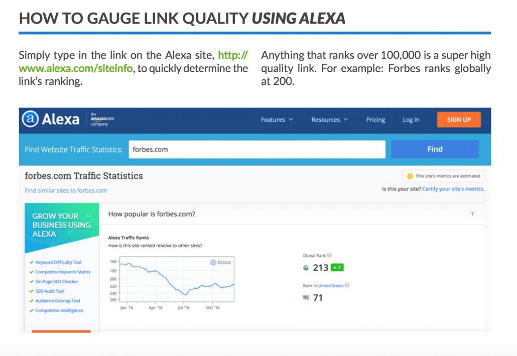 Link Quality Using Alexa