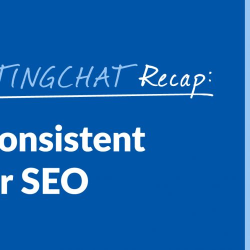 #ContentWritingChat Recap: Curating Consistent Content for SEO with Danielle Tate