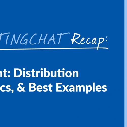 #ContentWritingChat Recap: Long-Form Content: Distribution & Promotion Tactics, & Best Examples with Lisa Dougherty