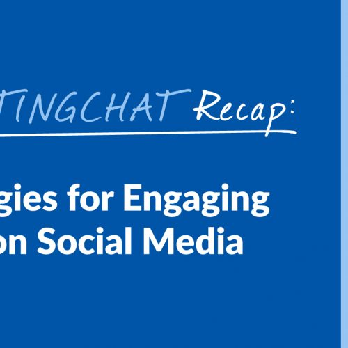 #ContentWritingChat Recap: The Best Strategies for Engaging Your Audience on Social Media with Meera Sapra