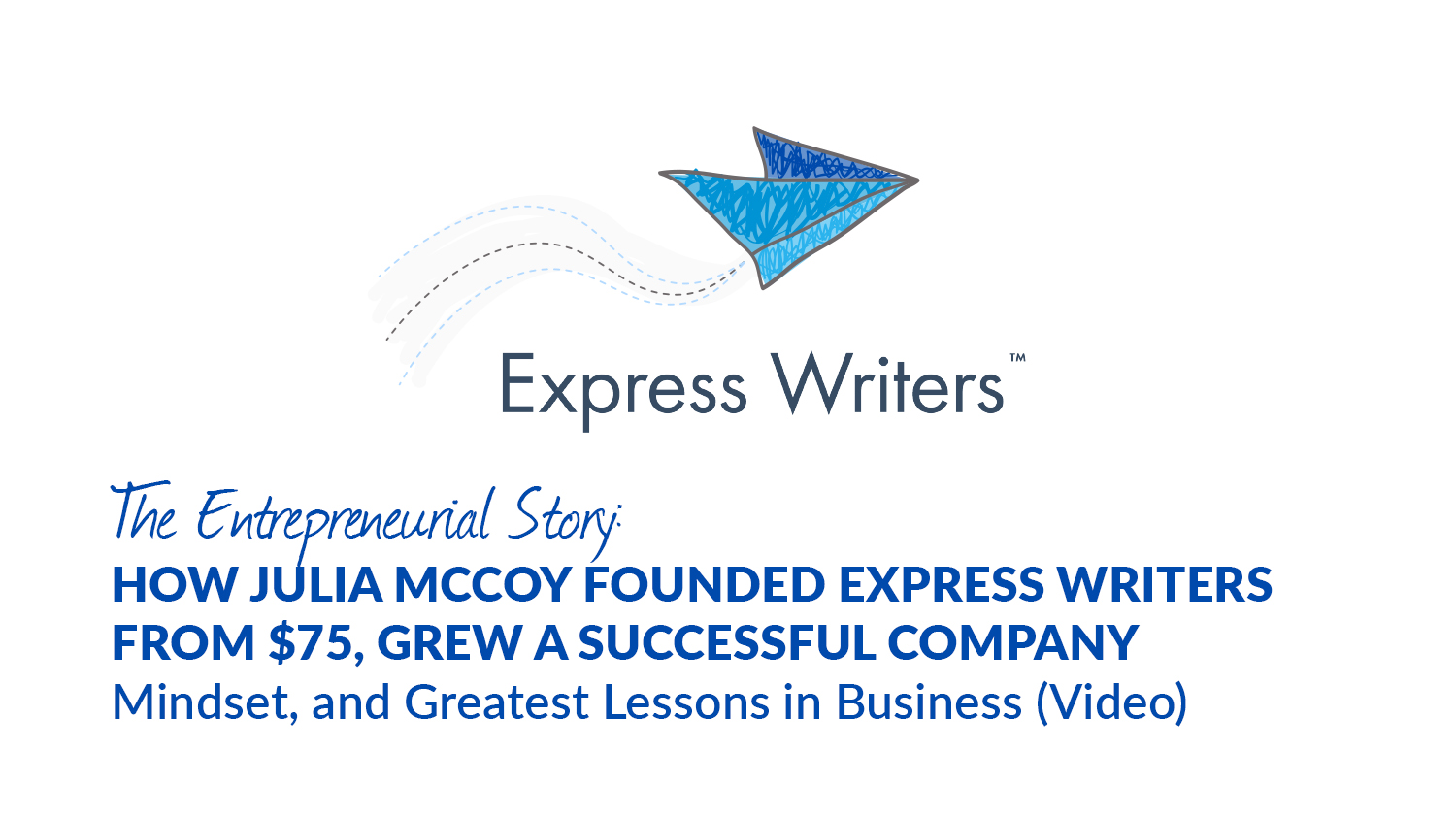 express writers launch story
