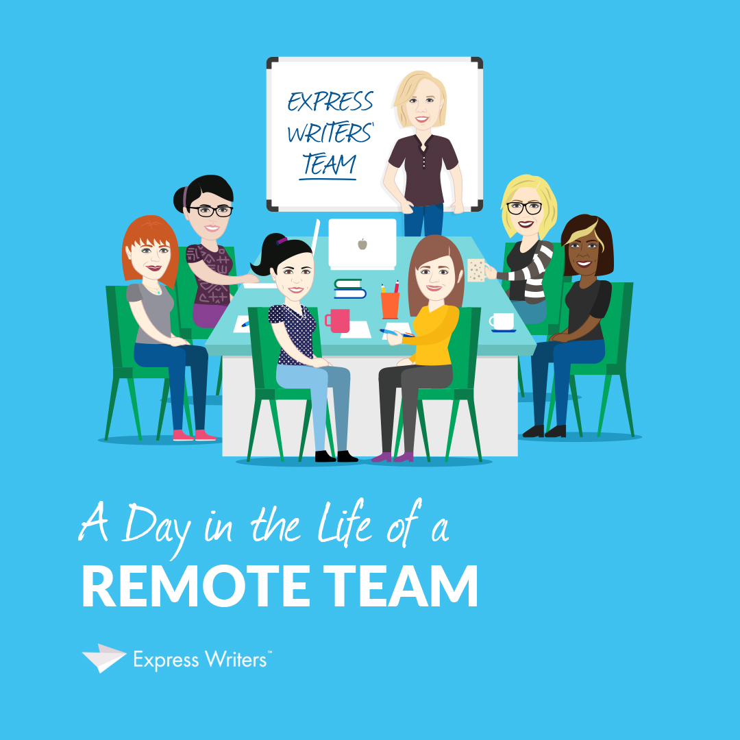 a day in the life of a remote team
