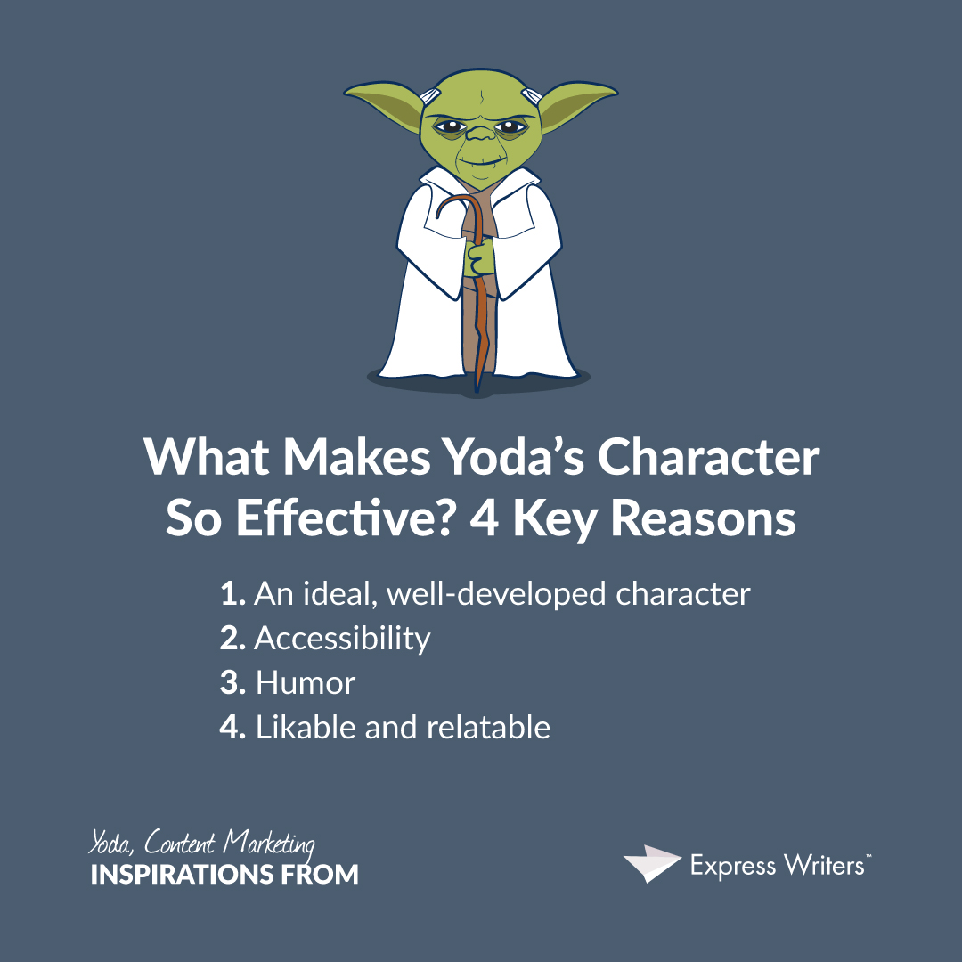 Yoda And Content Marketing Inspire It He Can