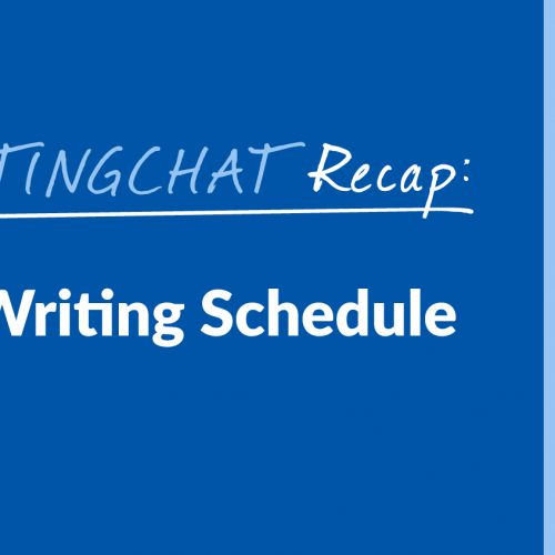 #ContentWritingChat Recap: Getting Into a Writing Schedule with Kelsey Jones