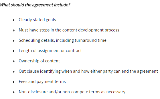 Freelancer Agreement