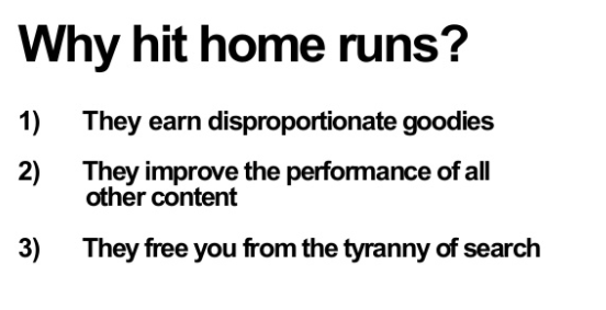Home Run Content
