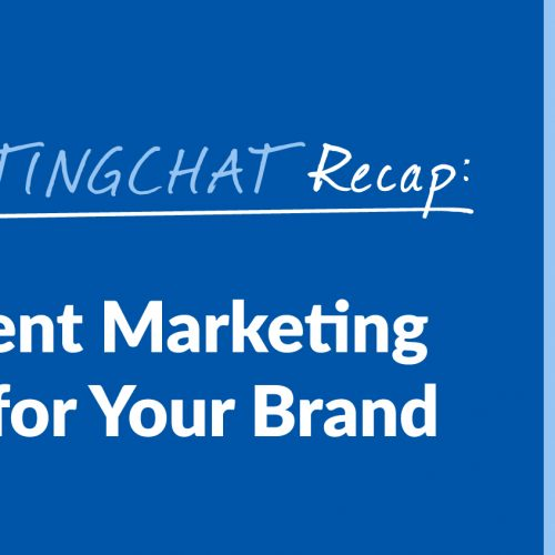#ContentWritingChat Recap: Making Content Marketing & SEO Work for Your Brand with Gini Dietrich