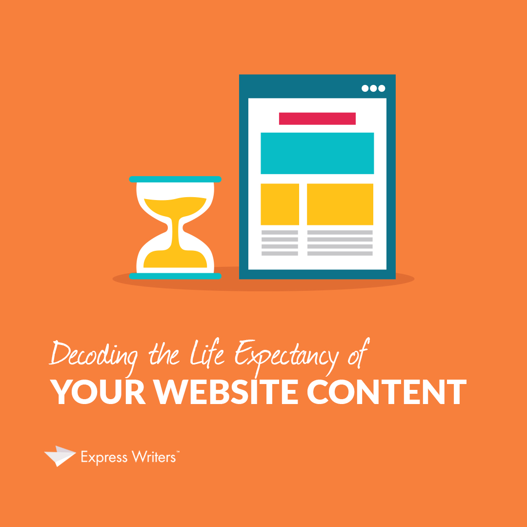 life expectancy of web content