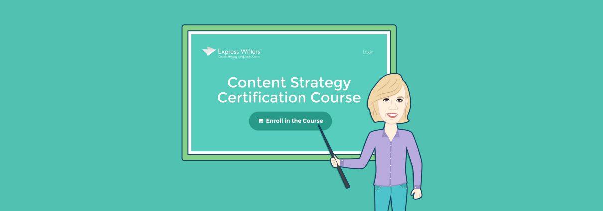 content strategist course
