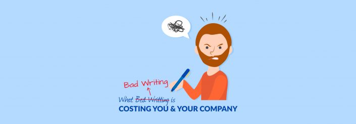 what bad writing costs your company