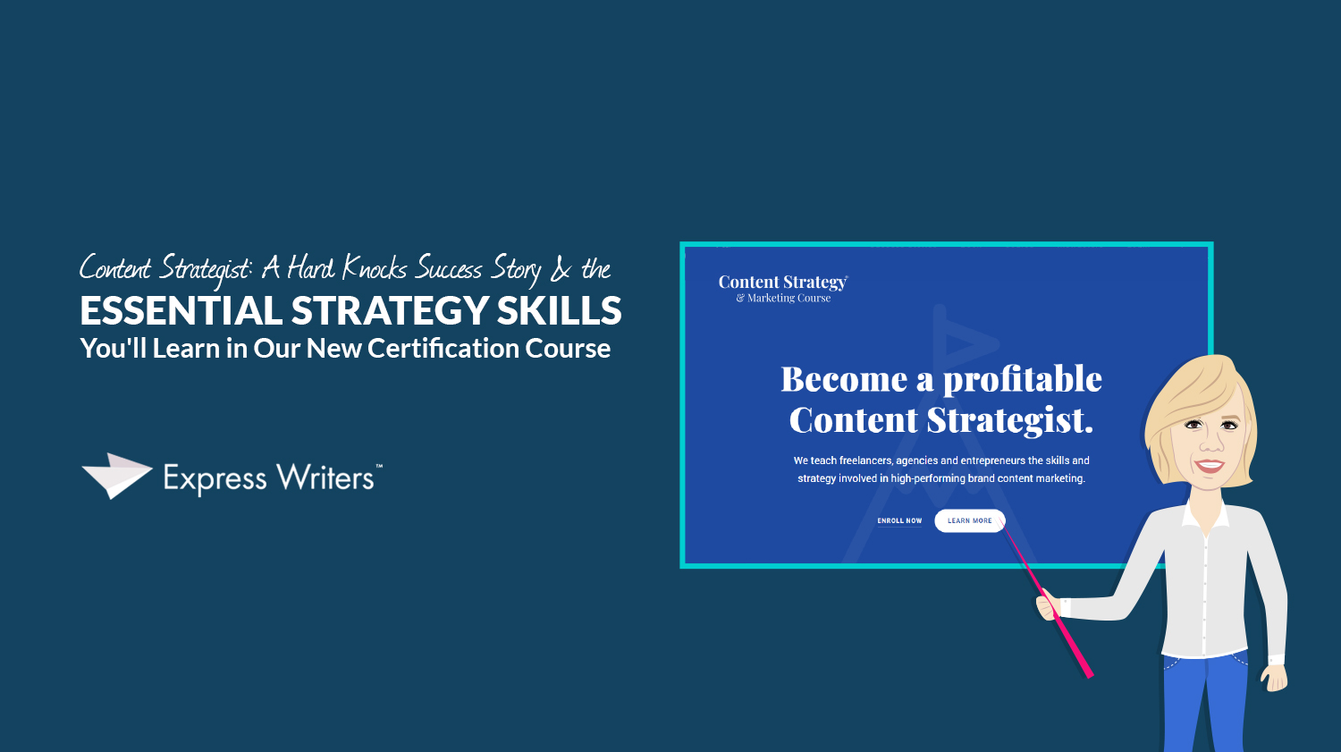 content strategist course skills