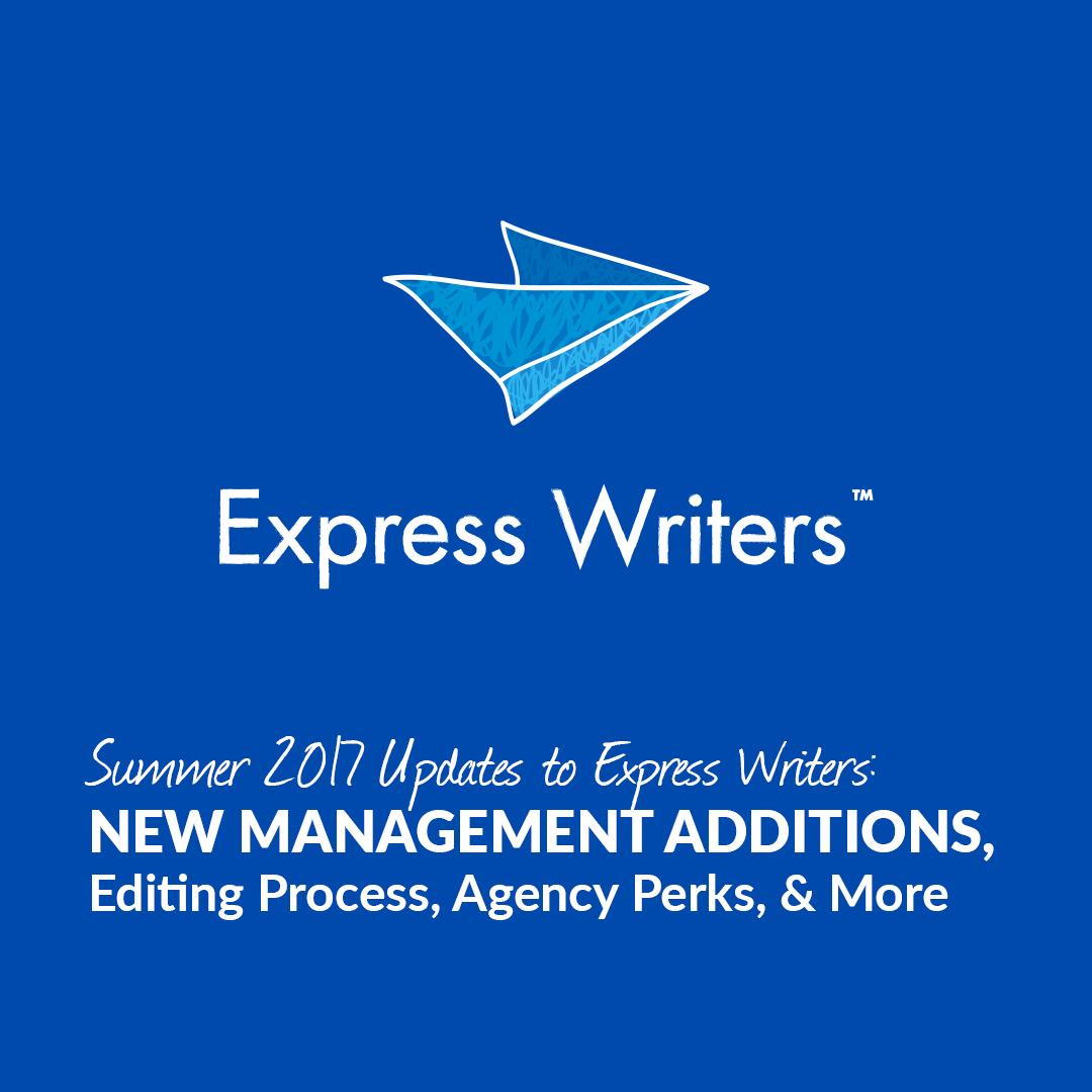 express writers summer 2017 updates