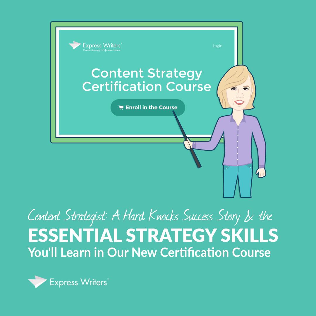 content strategist course skills
