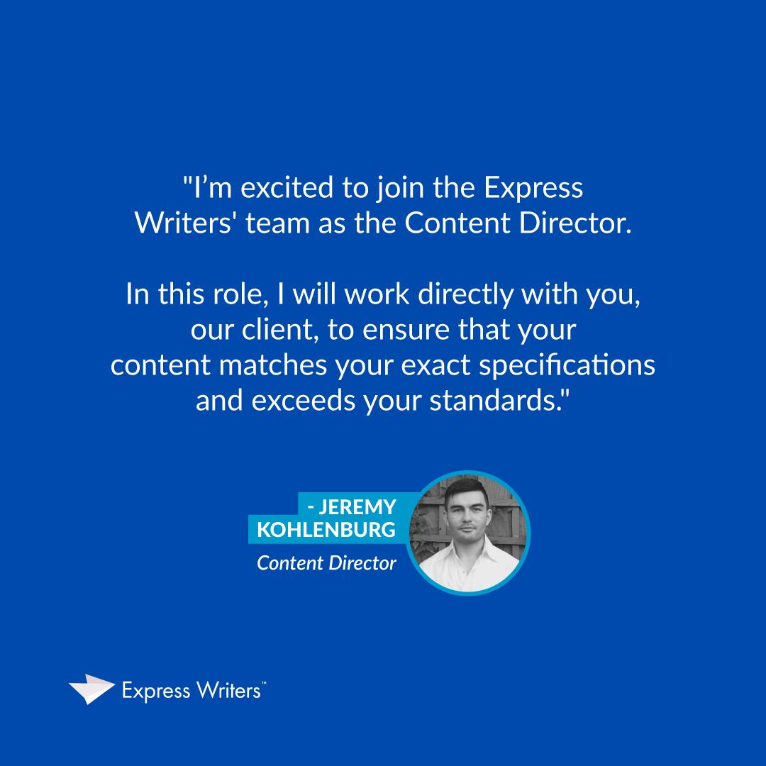 express writers jeremy