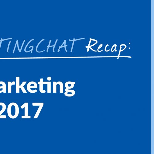 #ContentWritingChat Recap: Content Marketing Trends for 2017 with Dennis Shiao