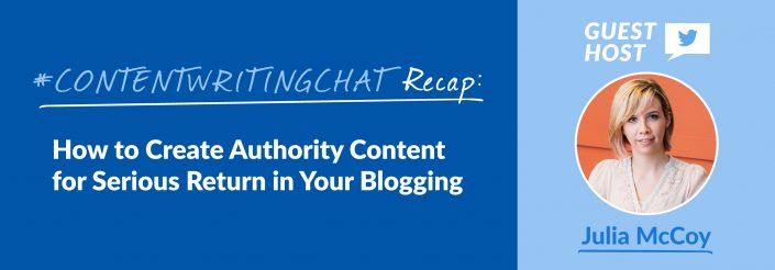 create authority content