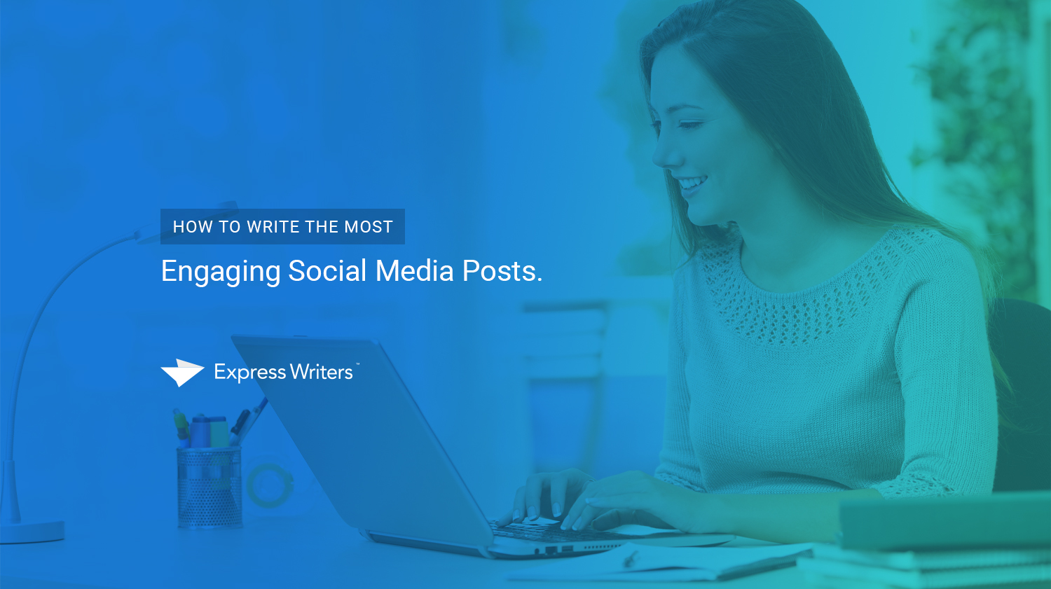 how to write social media posts