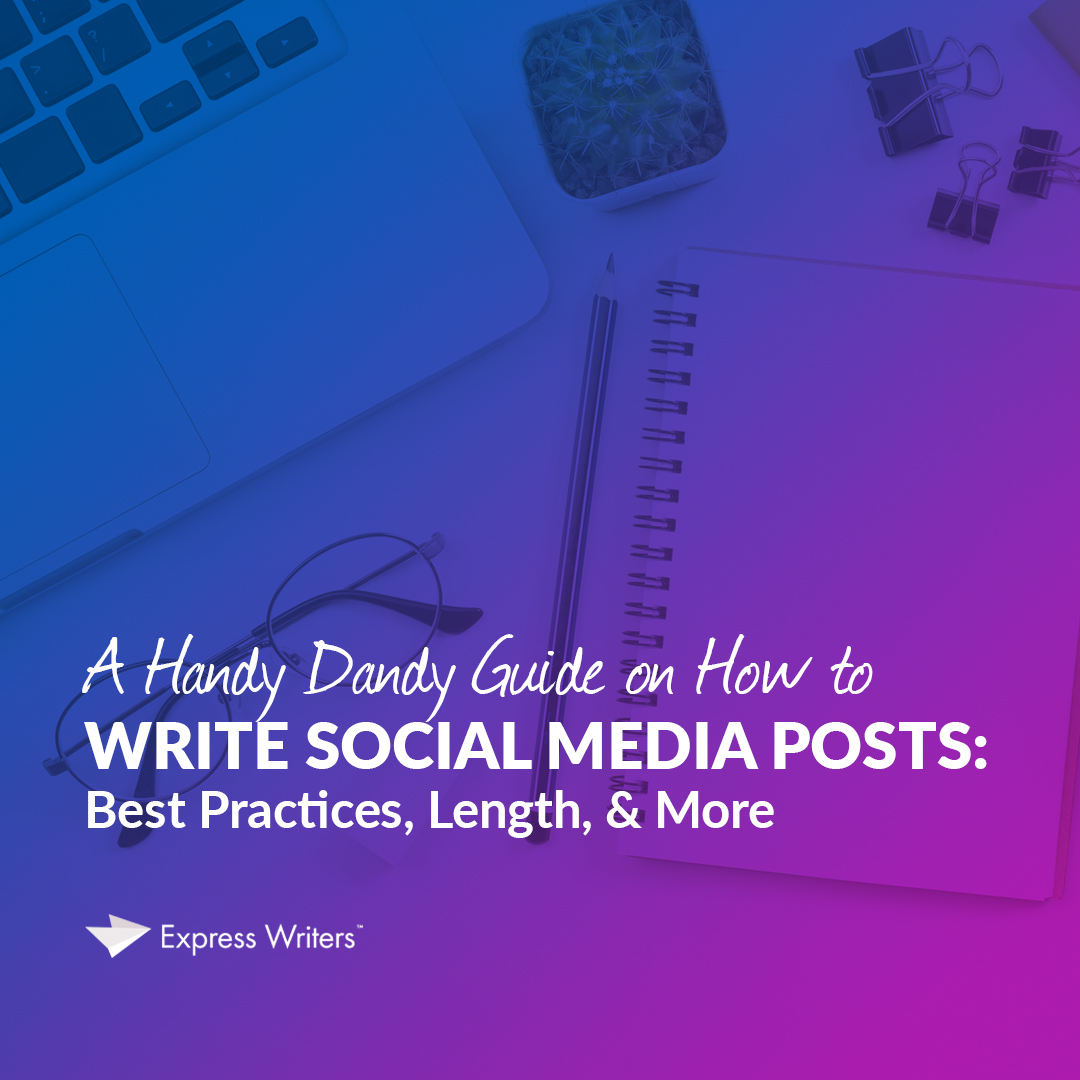 a guide to social media posts