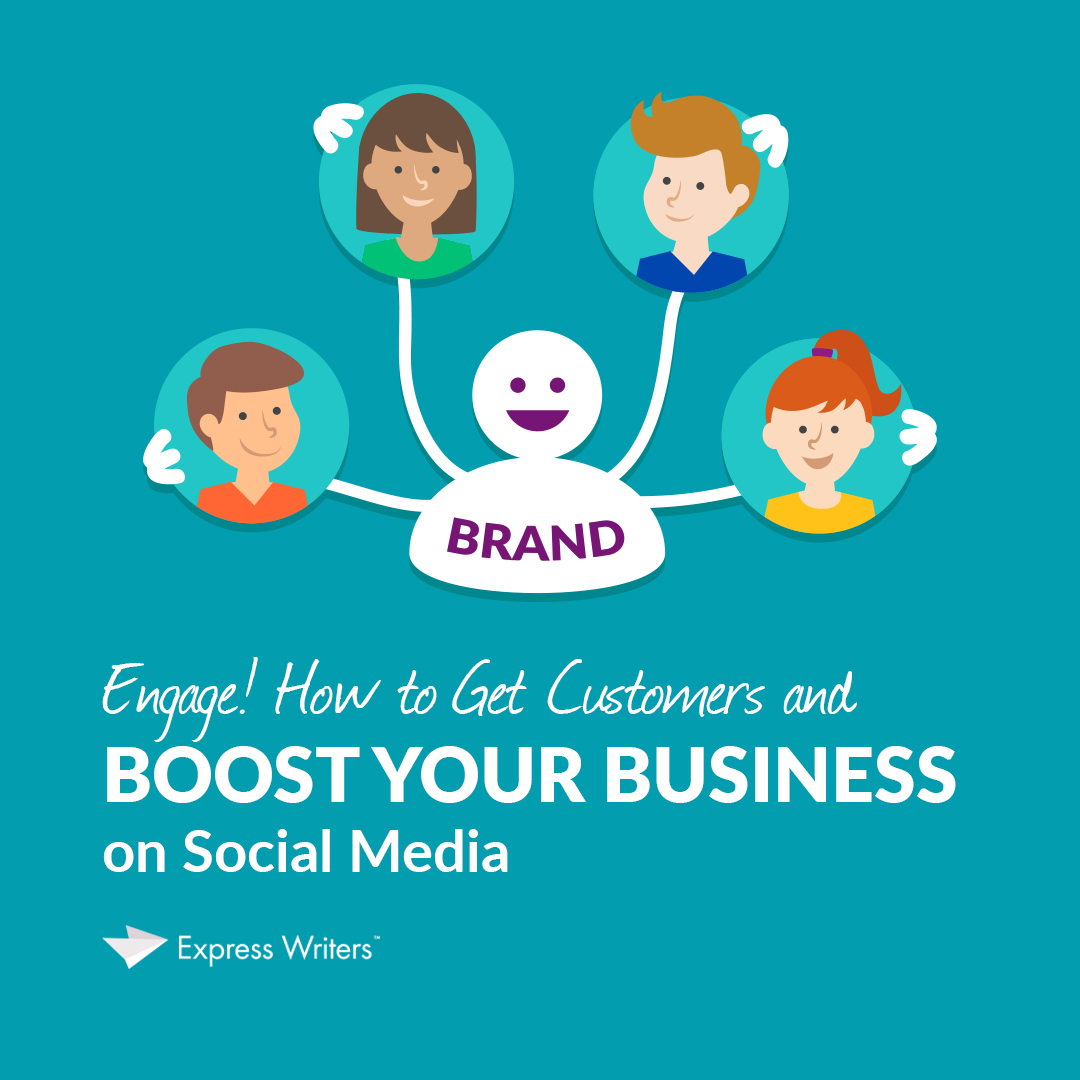 how to boost your business on social media and get customers