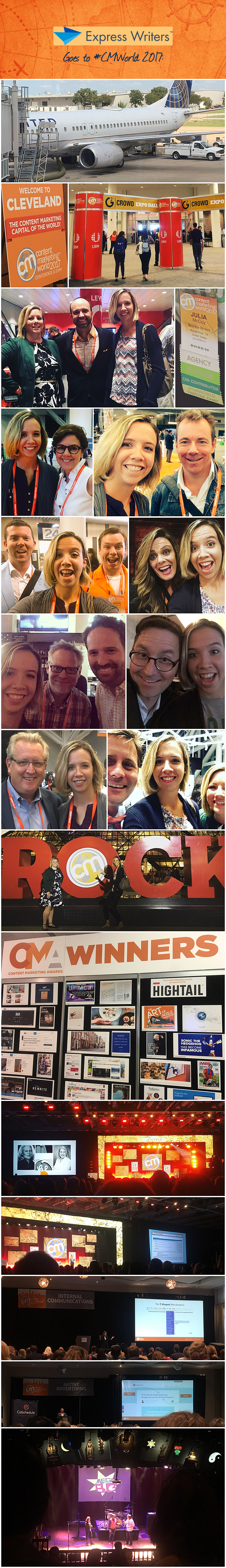 cmworld 2017 express writers collage