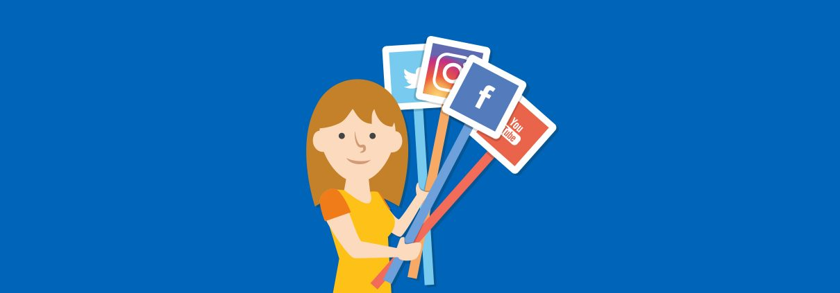 brand social media presence