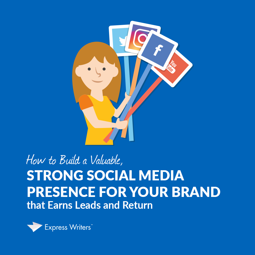 how to build a brand social media presence