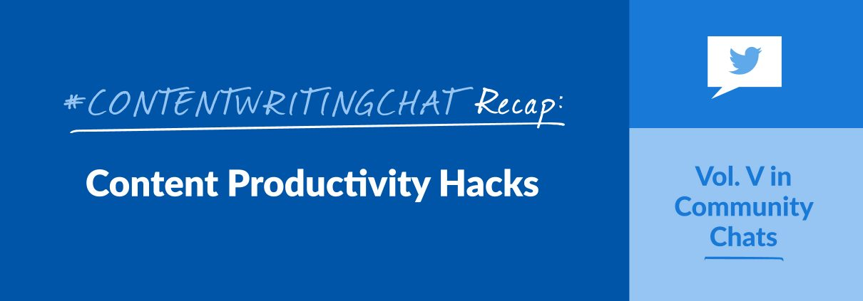content productivity