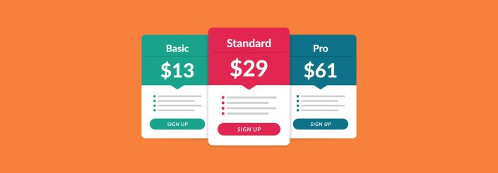 how to create a pricing page