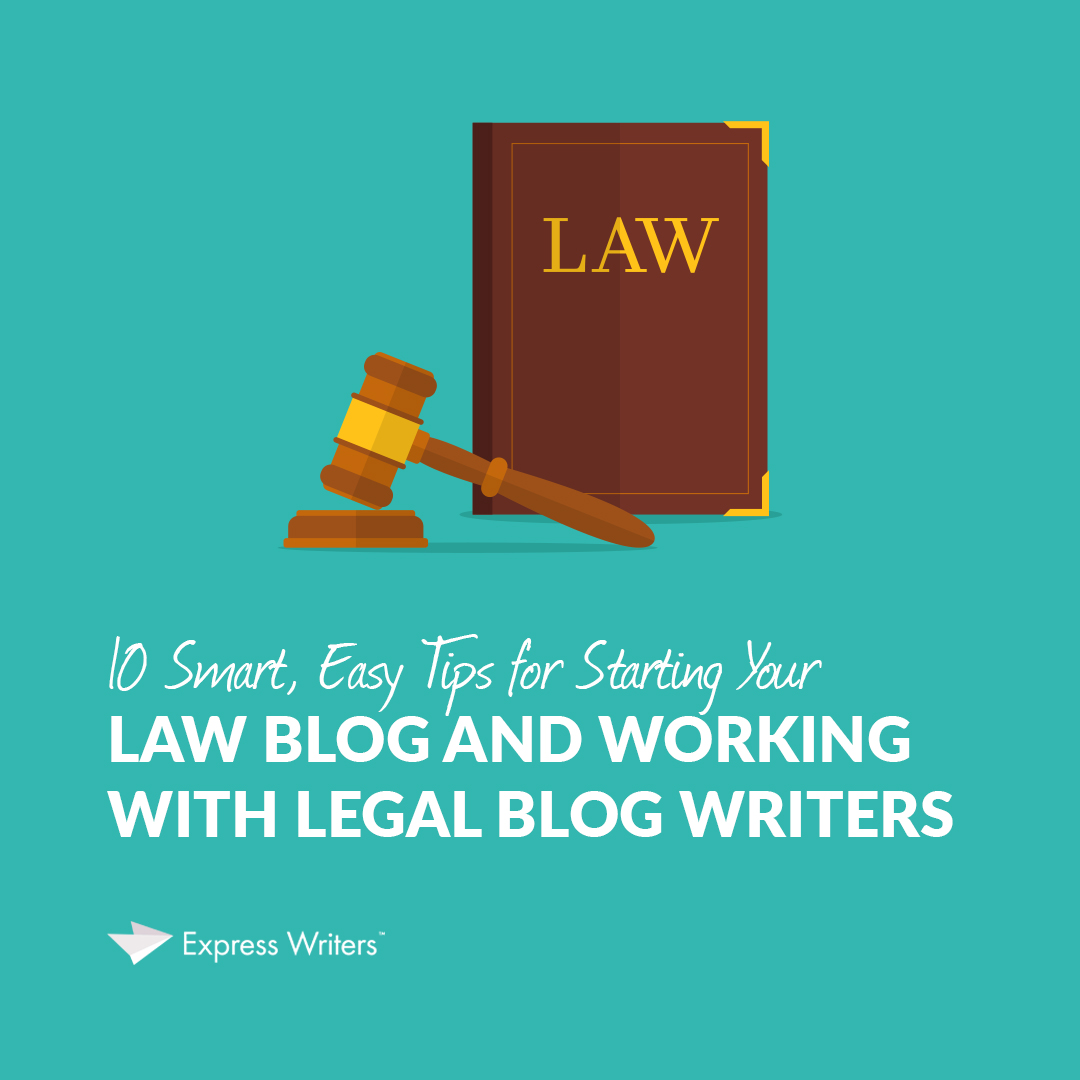 working with legal blog writers