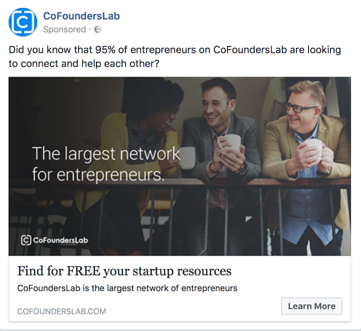 Facebook Ads for B2bs one