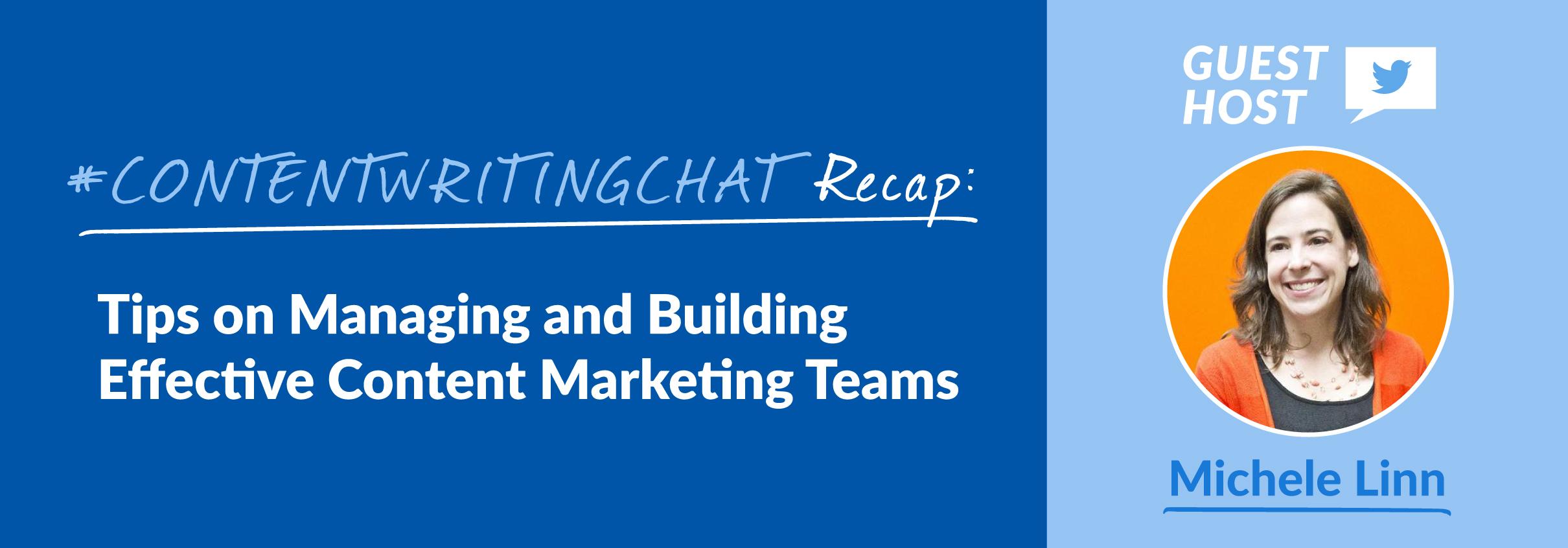content marketing teams