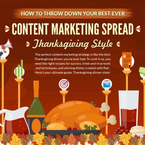 How to Throw Down Your Best-Ever Content Marketing Spread: Thanksgiving Style (Infographic)
