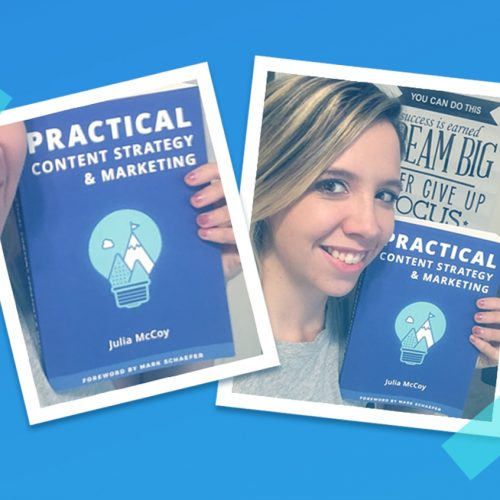It's Book Launch Day! Julia's Second Book, Practical Content Strategy & Marketing, is Here