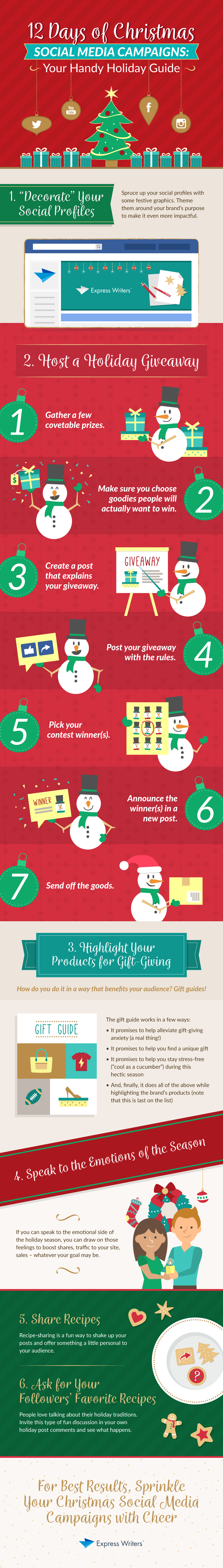 Days To Christmas.A Handy Holiday Content Guide To Christmas Social Media