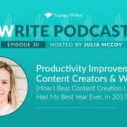 productivity improvement for content creators