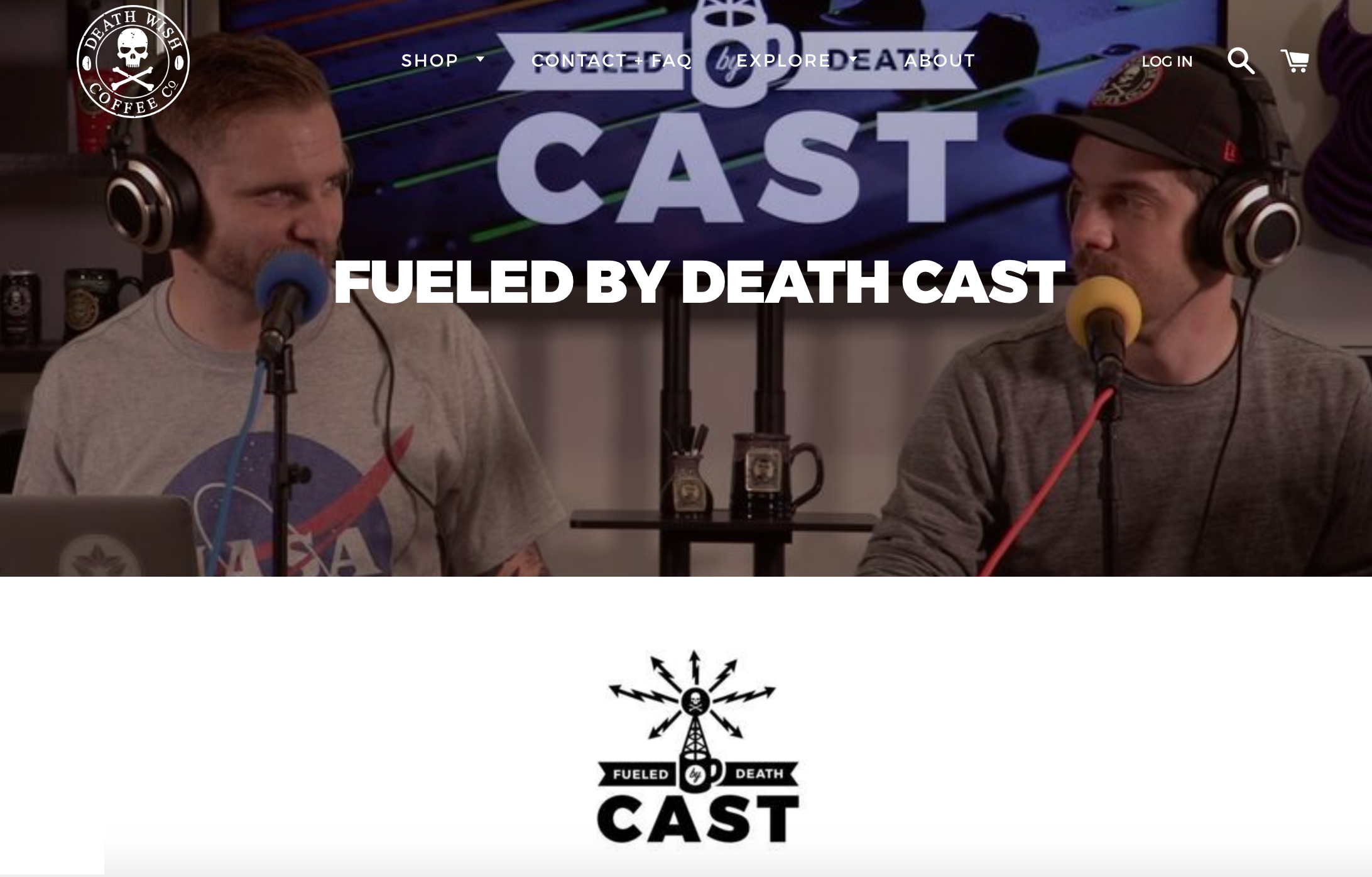 fueled by death cast
