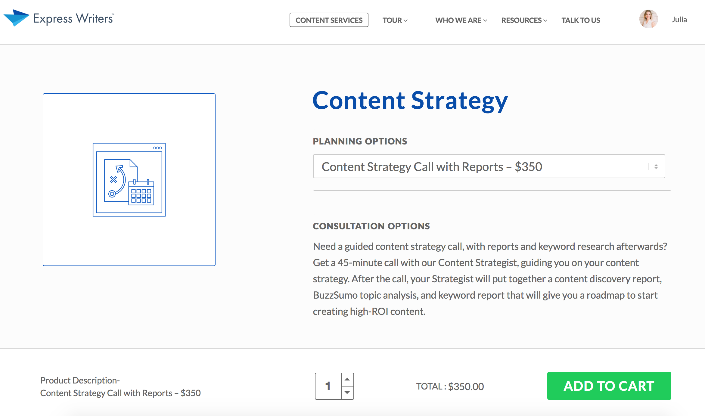 new content strategy service