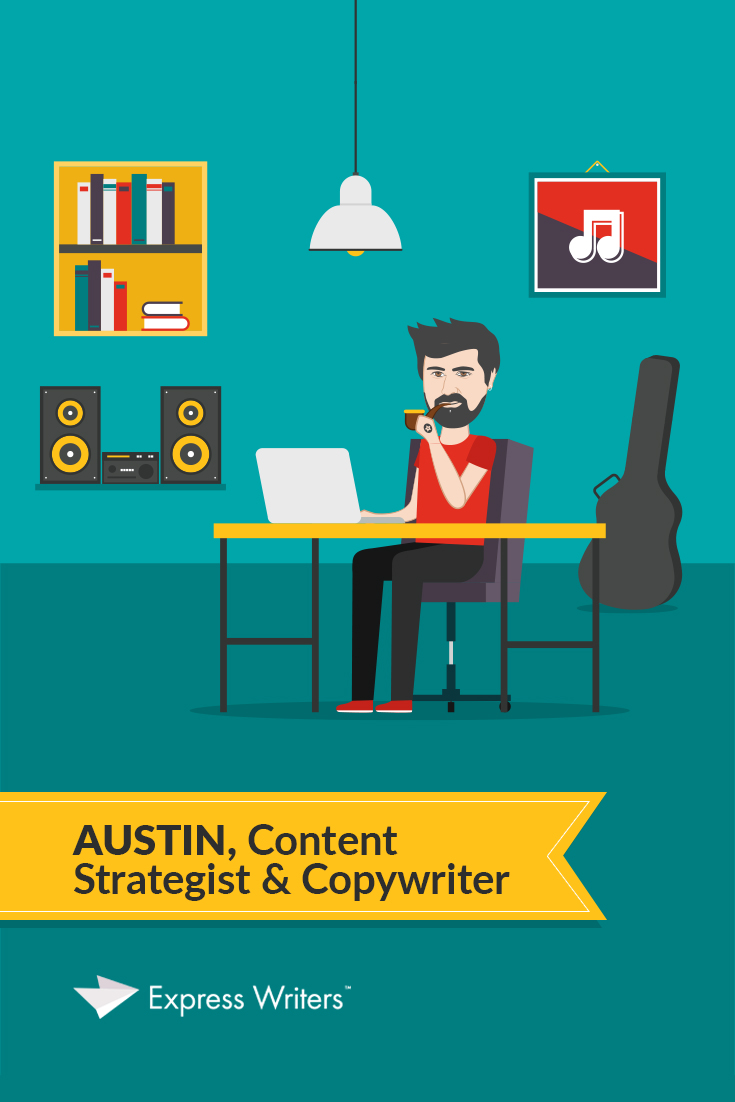 content strategist and authority writer Austin