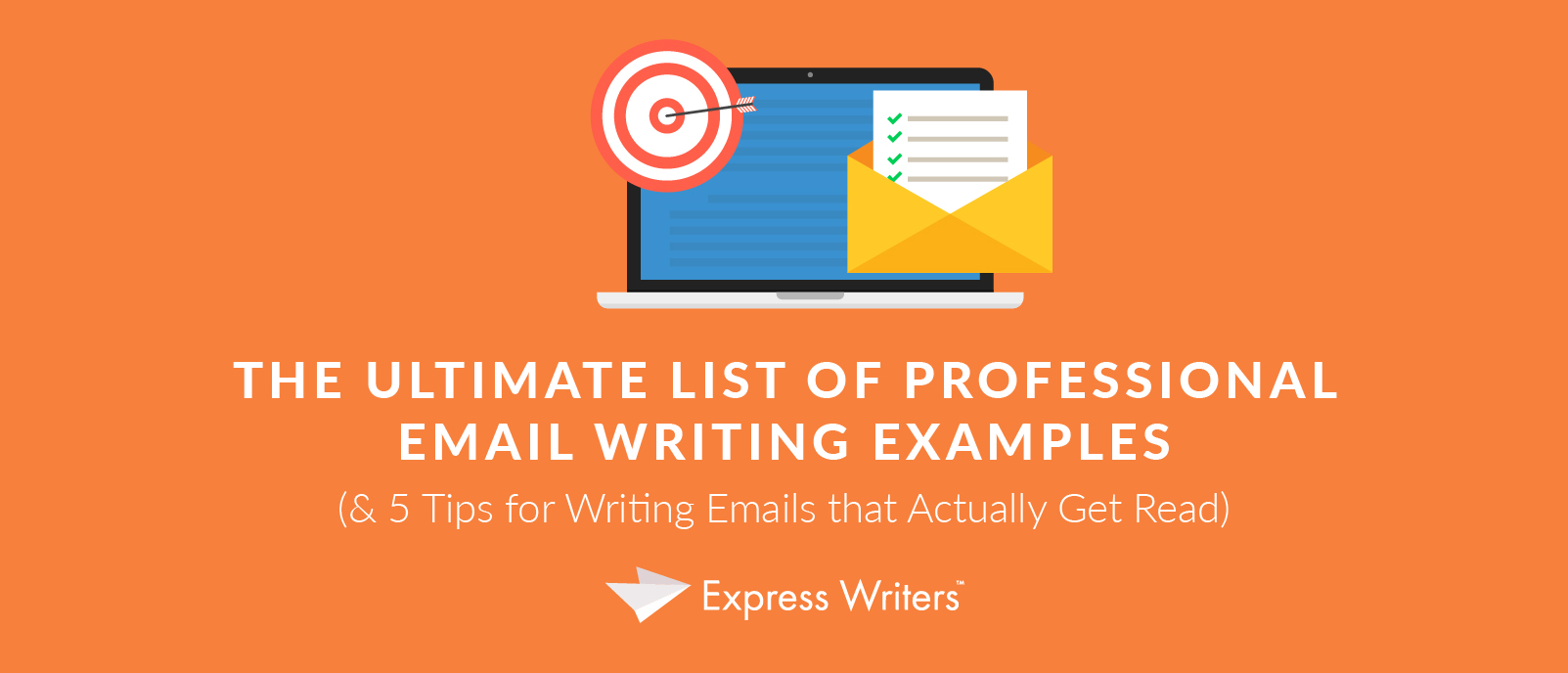 top professional email writing examples