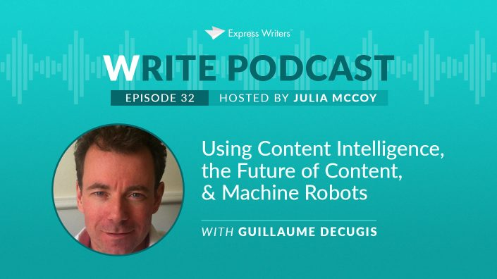Guillaume Decugis write podcast e32