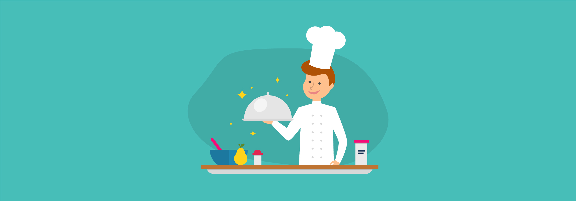 Content Marketing vs. Content Strategy: How to Cook Up Great Content (Your Recipe for Success) Infographic
