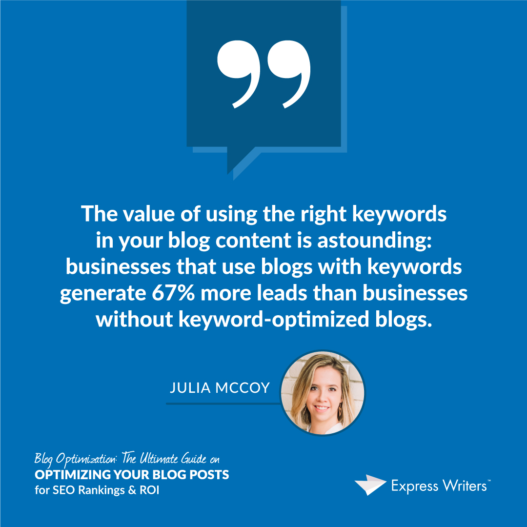 quote 2 blog optimization guide