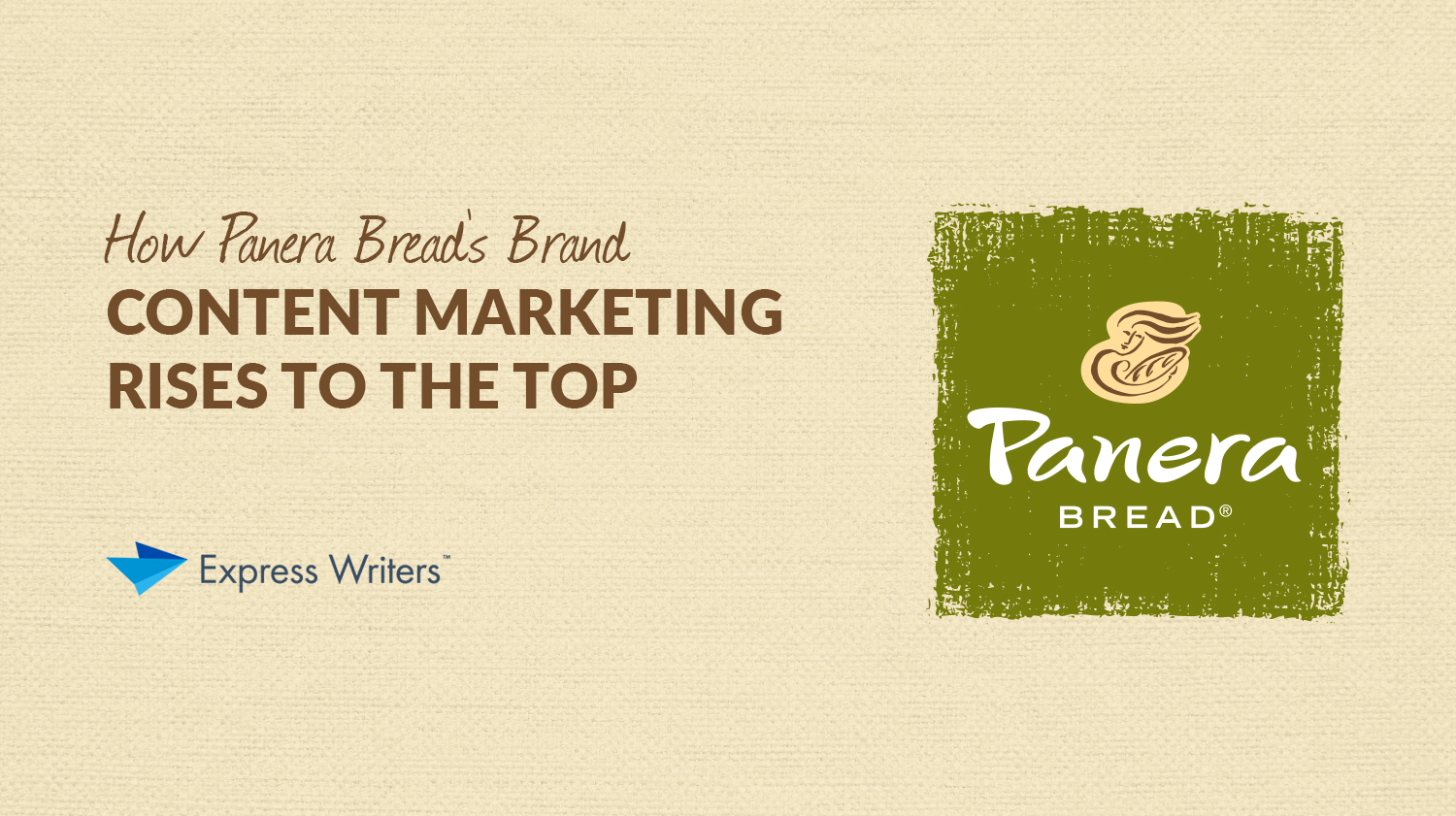 panera bread brand marketing