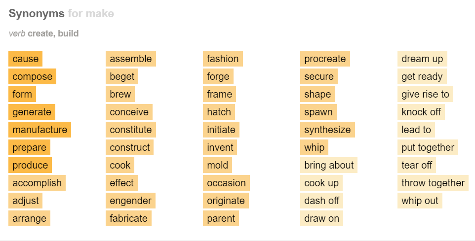make-synonyms